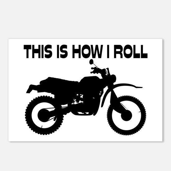 This Is How I Roll Dirt B Postcards (Package of 8)