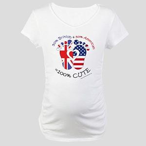 British American Baby Maternity T-Shirt