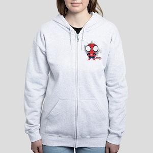 Spiderman Mini Women's Zip Hoodie