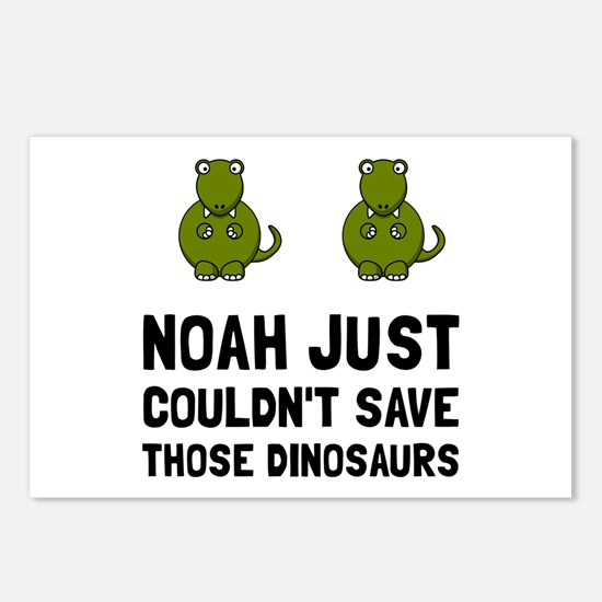 Noah Dinosaurs Postcards (Package of 8)
