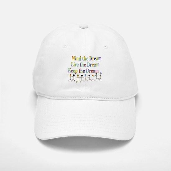 Live the Dream Baseball Baseball Cap