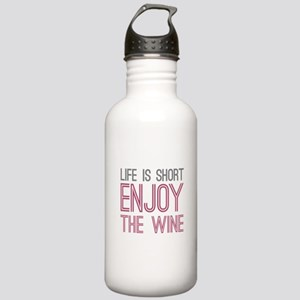 Life Short Wine Stainless Water Bottle 1.0L