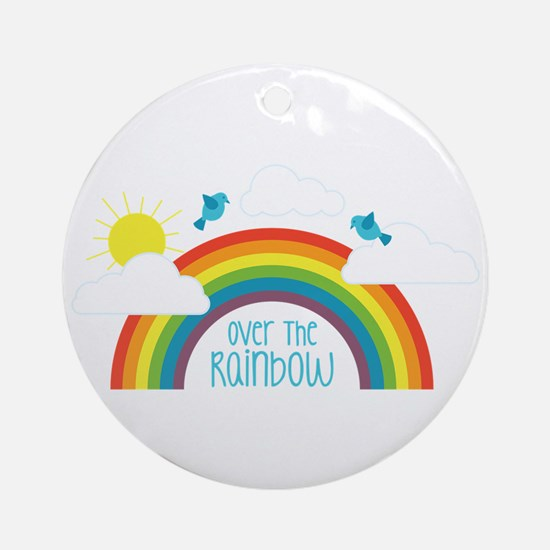 Over The Rainbow Ornament (Round)