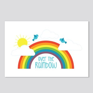 Over The Rainbow Postcards (Package of 8)
