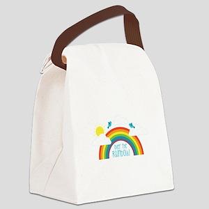 Over The Rainbow Canvas Lunch Bag