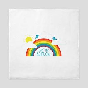Over The Rainbow Queen Duvet