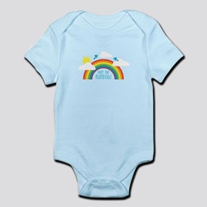 Over The Rainbow Body Suit