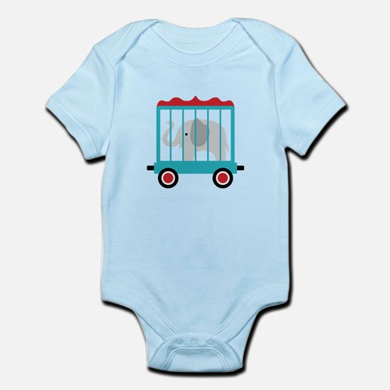 Elephant Cage Zoo Body Suit