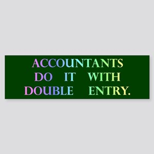 Accountant Gift Bumper Sticker