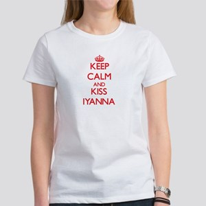 Keep Calm and Kiss Iyanna T-Shirt