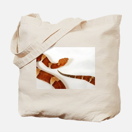 Poisonous Snake Tote Bag