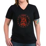 Red goat coven circle T-Shirt