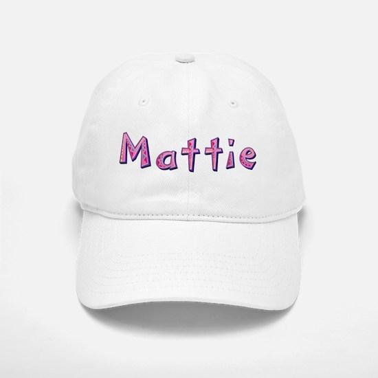 Mattie Pink Giraffe Baseball Baseball Baseball Cap