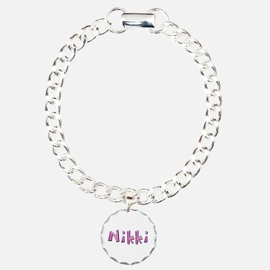 Nikki Pink Giraffe Bracelet