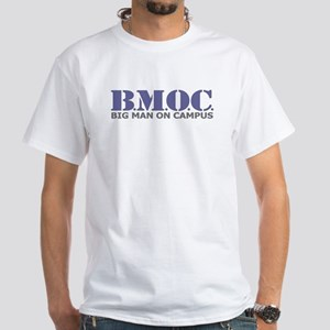 BMOC (Big Man On Campus) White T-Shirt