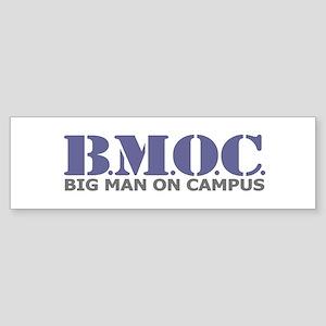 BMOC (Big Man On Campus) Bumper Sticker