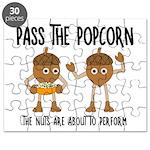 Pass Popcorn Nuts Puzzle