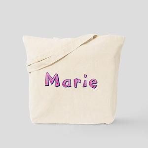 Marie Pink Giraffe Tote Bag