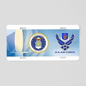 Reserve Command USAF Aluminum License Plate
