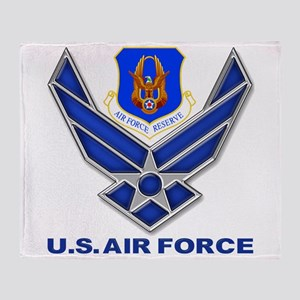 Reserve Command Usaf Throw Blanket
