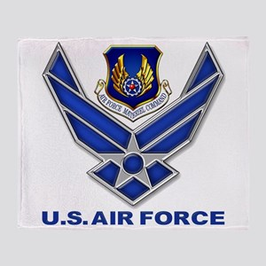 Air Materiel Command Throw Blanket