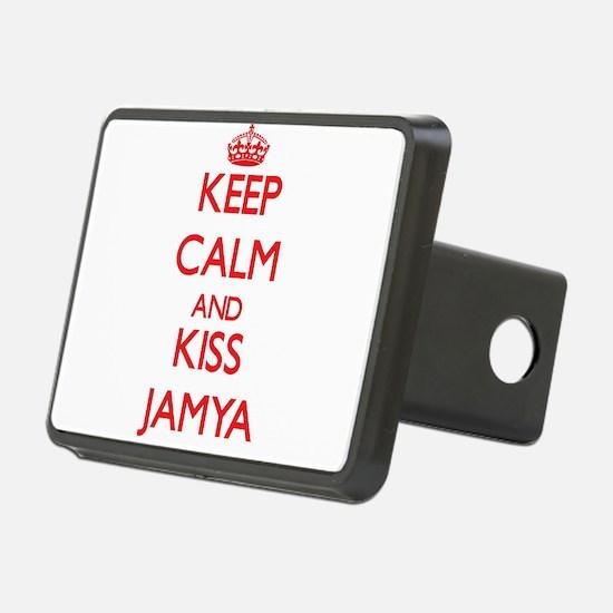 Keep Calm and Kiss Jamya Hitch Cover