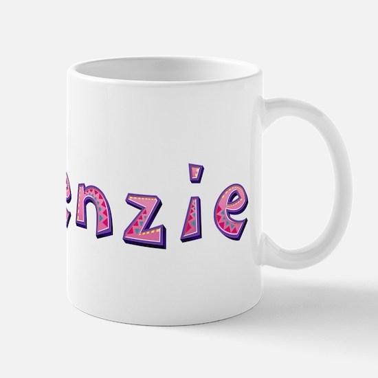 Makenzie Pink Giraffe Mugs