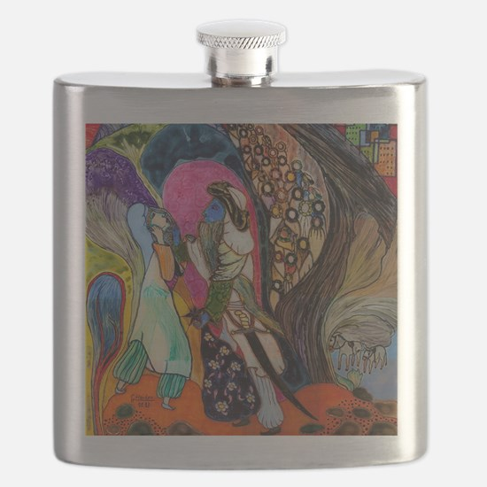 The 40th robber (of Ali Baba) Flask