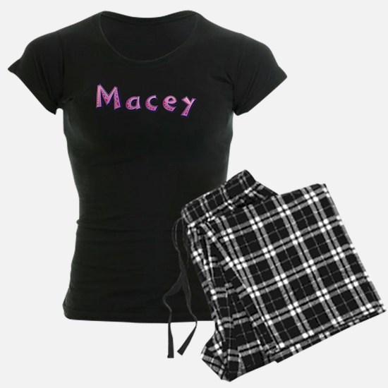 Macey Pink Giraffe Pajamas
