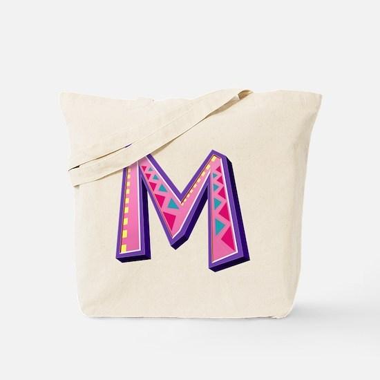 M Pink Giraffe Tote Bag
