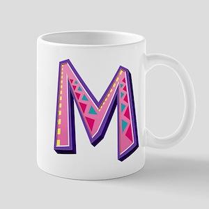 M Pink Giraffe Mugs