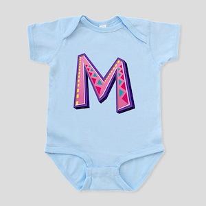 M Pink Giraffe Body Suit