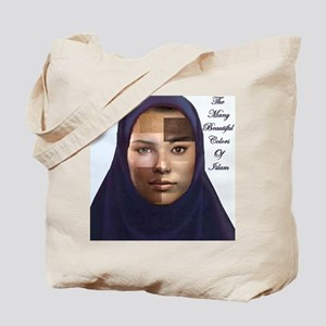 The colors of Islam Tote Bag