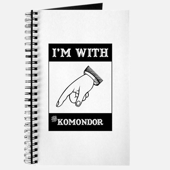 With the Komondor Journal