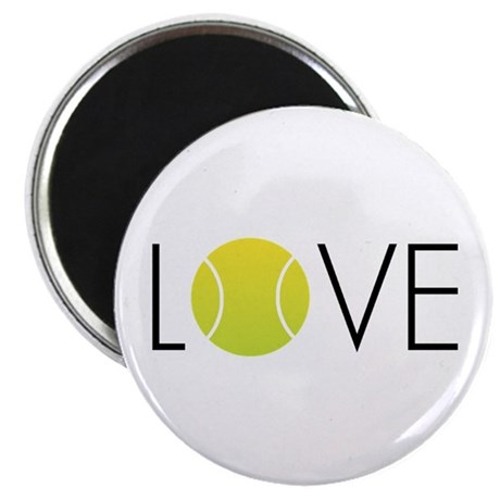 "Tennis LOVE ALL 2.25"" Magnet (100 pack)"