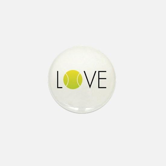 Tennis LOVE ALL Mini Button