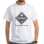 Syphilis White T-Shirt