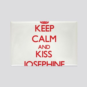 Keep Calm and Kiss Josephine Magnets