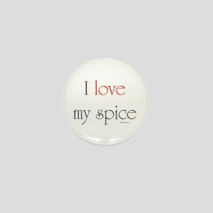I love my spice (red love) Mini Button