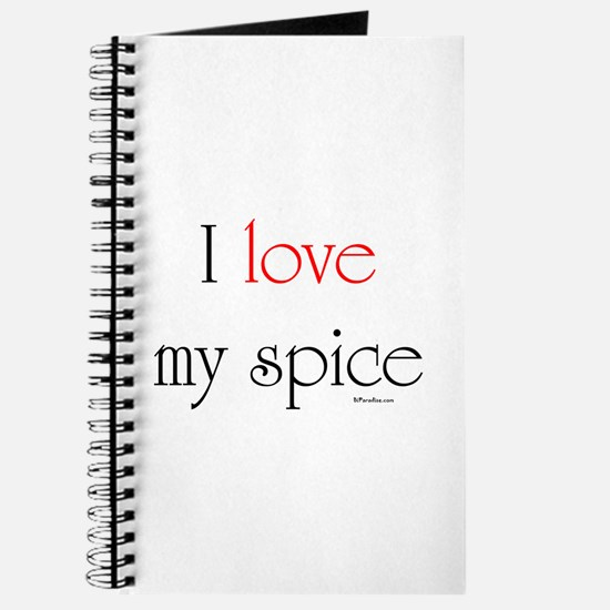 I love my spice (red love) Journal
