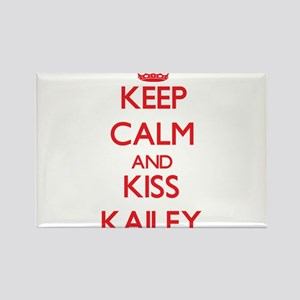 Keep Calm and Kiss Kailey Magnets