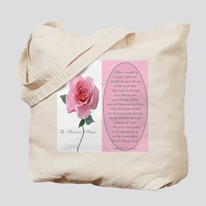 A Woman's Heart Tote Bag