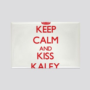 Keep Calm and Kiss Kaley Magnets