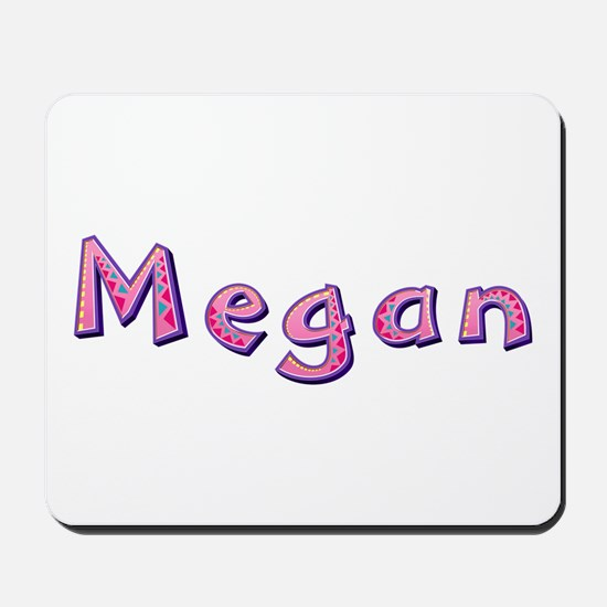 Megan Pink Giraffe Mousepad