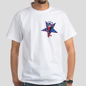 KozmiKat White T-Shirt