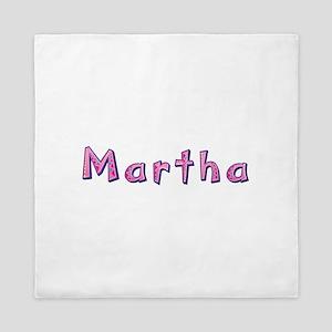 Martha Pink Giraffe Queen Duvet
