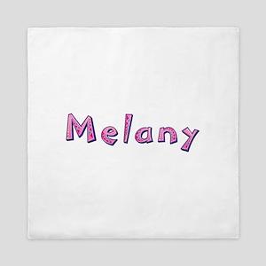 Melany Pink Giraffe Queen Duvet