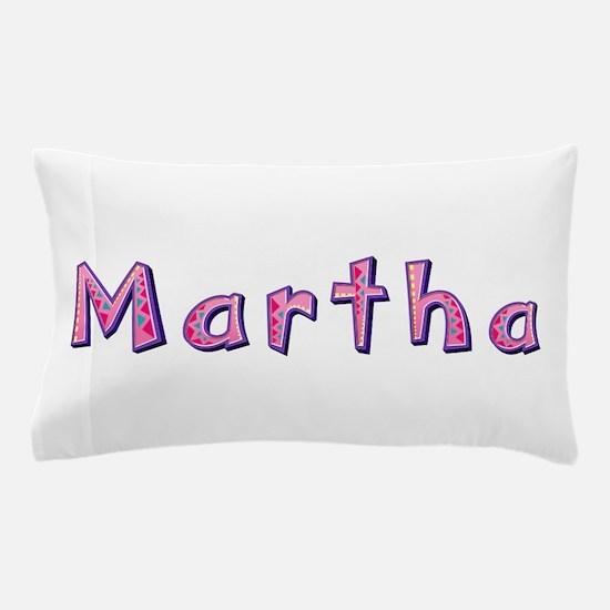 Martha Pink Giraffe Pillow Case