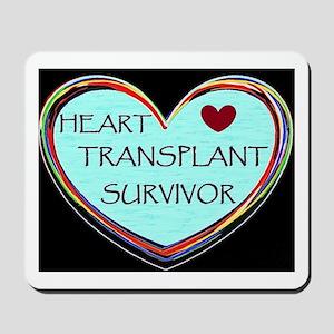 Heart Transplant Survivor Mousepad