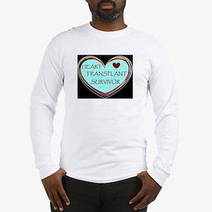 Heart Transplant Survivor Long Sleeve T-Shirt